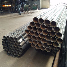 Precision Mechanical Steel Tubing , Erw Galvanized Steel Pipe 1 - 35 Mm Thickness