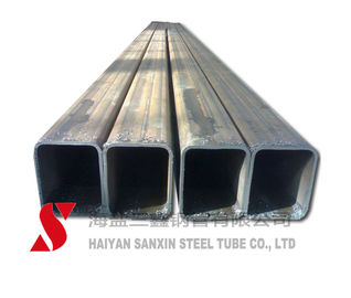 Cold Drawn Seamless Rectangular Metal Tubing , Square / Rectangular Steel Pipe