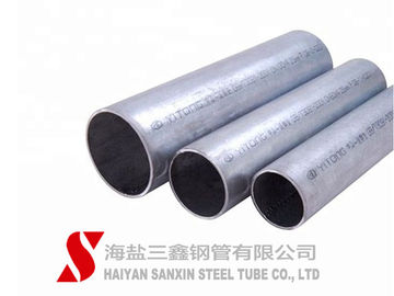 China SANXIN Structural Welding Scaffold Tube , Precision Hot Dip Galvanized Steel Pipe supplier