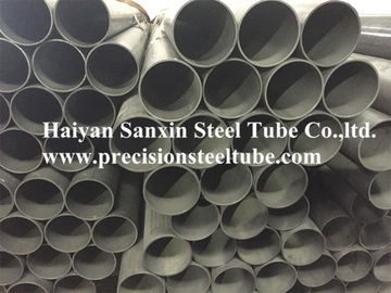 China Carbon Cold Drawn Welded Precision Steel Pipe Round Shape Max 12m Length factory