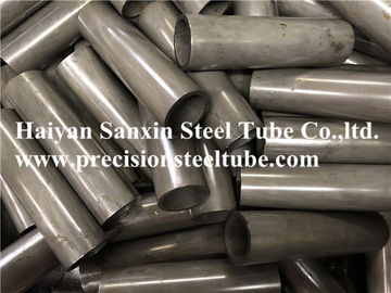 China Auto Parts Hydraulic Steel Pipe , Round Steel Cylinder Pipe Smooth Surface factory