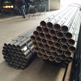 China Precision Mechanical Steel Tubing , Erw Galvanized Steel Pipe 1 - 35 Mm Thickness factory