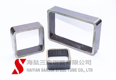 China Cold Drawn Seamless Rectangular Steel Tubing 1 - 30mm Wall Thickness ASTM / DIN Standard distributor