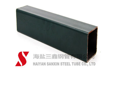 China 10# / 20# Grade Rectangular Steel Tubing 1 - 24mm Thickness 1 - 12M Length factory