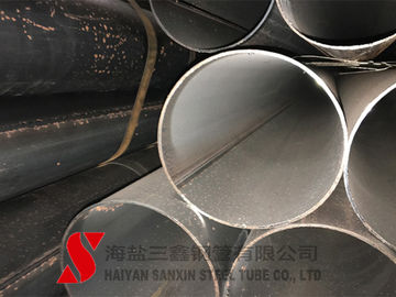 China Cold Finished Welded Steel Pipe , Scaffolding Steel Pipe ASTM / DIN Standard distributor