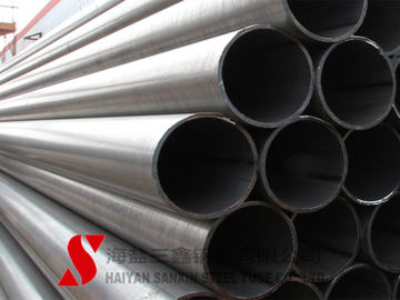 China Galvanized Welded Steel Tube 10.2 - 2540mm Outer Diameter For Fluid factory