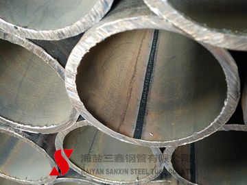 China Cold Drawn Round Welded Steel Pipe , Weldable Steel Tubing For Auto Parts distributor
